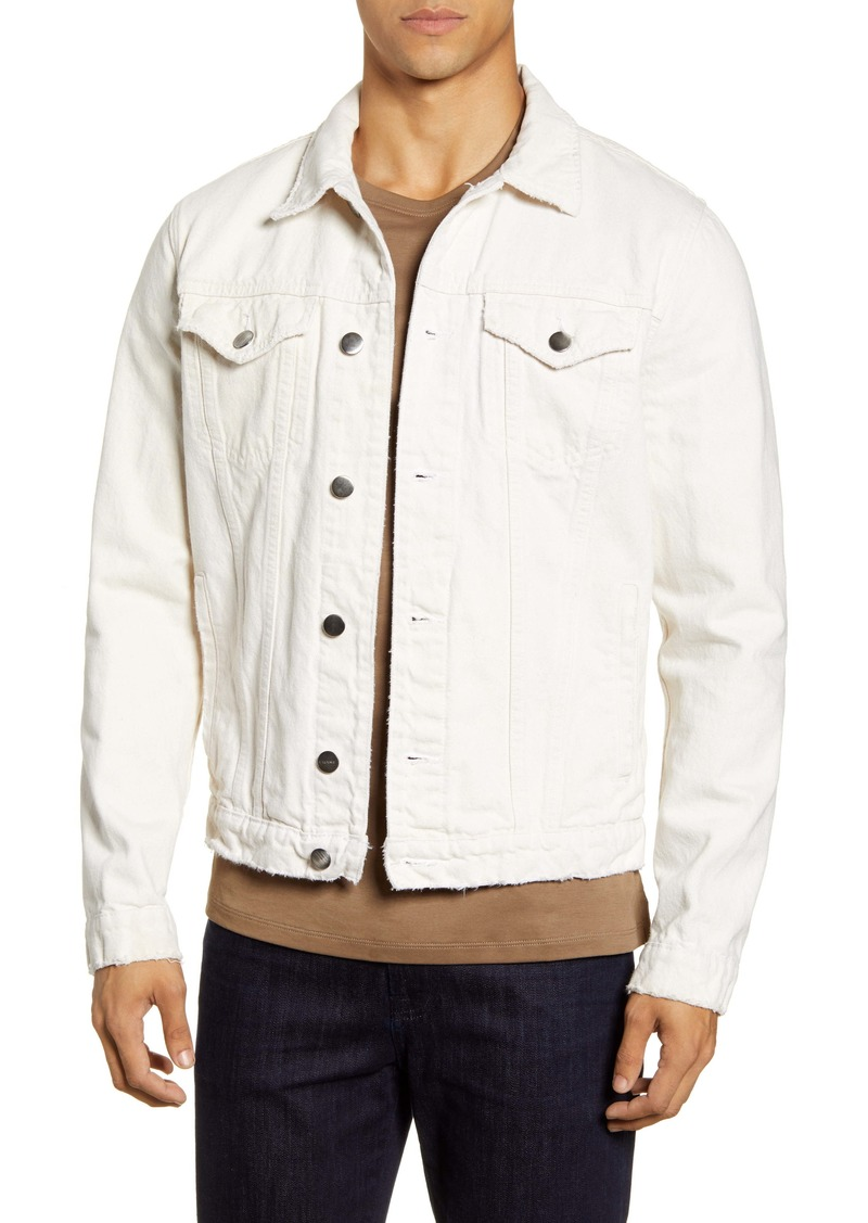 FRAME L'Homme Regular Fit Denim Jacket
