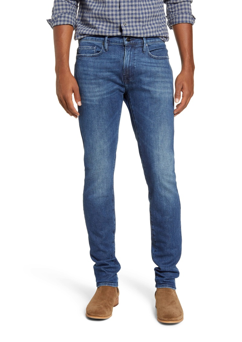 FRAME L'Homme Skinny Fit Jeans (Coney)