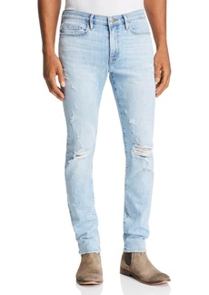 FRAME L'Homme Skinny Fit Jeans in Tubman - 100% Exclusive