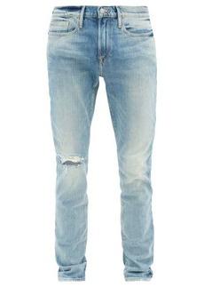 Frame L'Homme stonewashed skinny-leg jeans