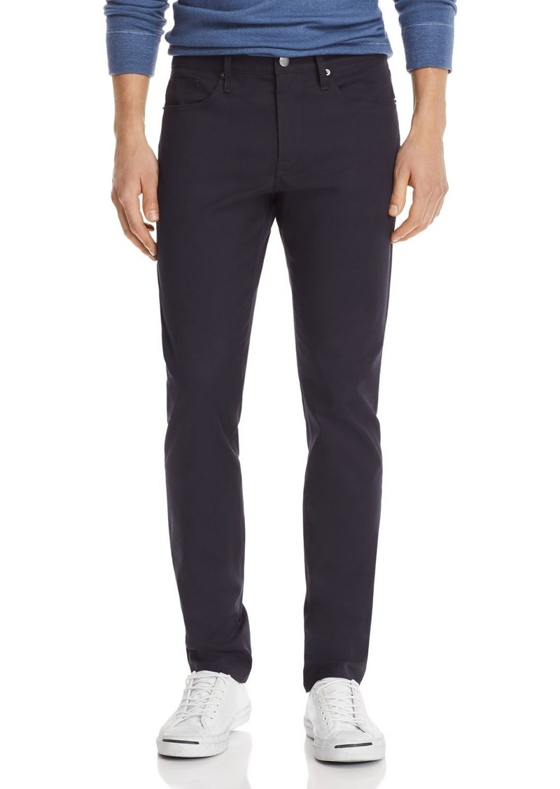 FRAME L'Homme Slim Fit Tech Pants in Navy