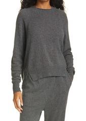 FRAME Lounge Cashmere & Wool Crewneck Sweater