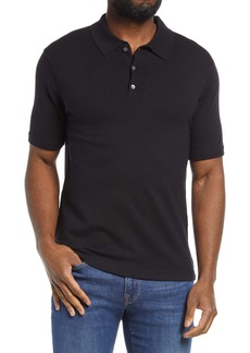 FRAME Luxe Stretch Polo Shirt
