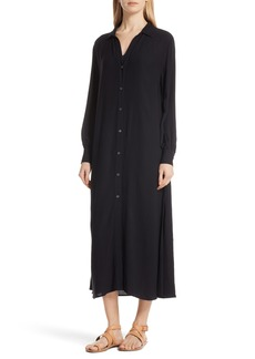 FRAME Maxi Shirtdress