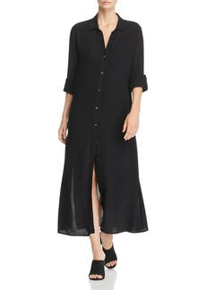 FRAME Midi Shirt Dress
