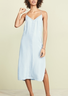 FRAME Midi Slip Dress