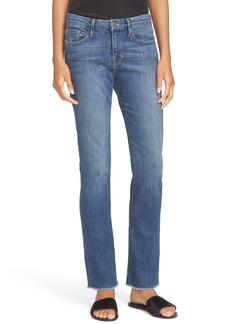 FRAME Mini Bootcut Jeans (Dexter)