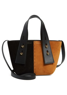 FRAME Mini Les Second Suede Crossbody Bag