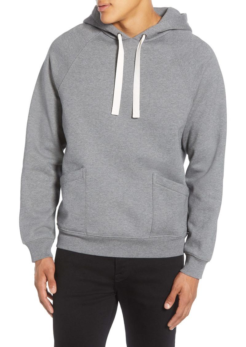 FRAME New Pocket Classic Hooded Sweatshirt