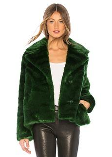 FRAME Notched Collar Coat