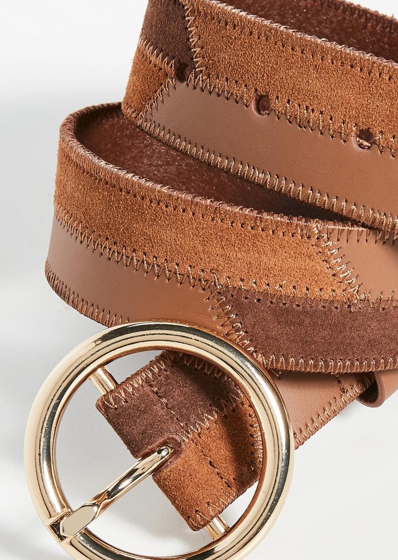 FRAME O Ring Patchwork Belt