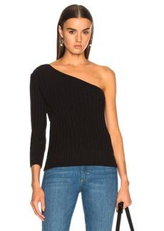 FRAME One Shoulder Sweater