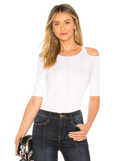FRAME Open Shoulder Short Sleeve