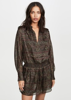 FRAME Paisley Party Dress