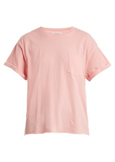 Frame Patch-pocket cotton-jersey T-shirt