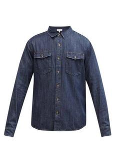 Frame Patch pocket denim shirt