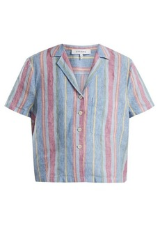 Frame Patch-pocket linen shirt