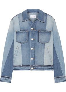 FRAME Patchwork denim jacket