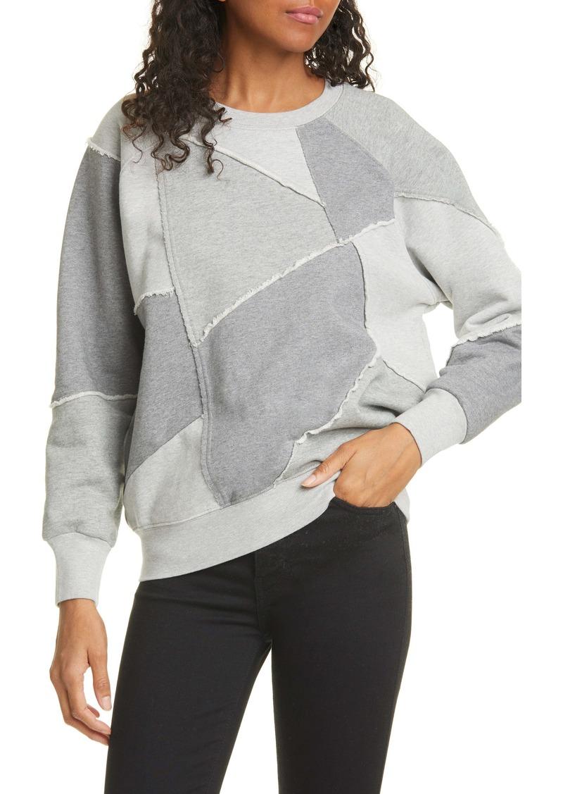 FRAME Patchwork Sweatshirt