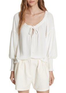 FRAME Peasant Blouse (Nordstrom Exclusive)