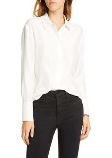 FRAME Perfect Silk Shirt