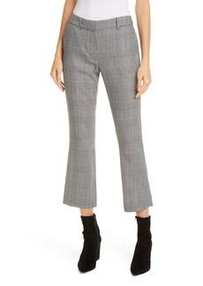 FRAME Perfect Stripe Crop Trousers