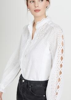 FRAME Petal Button Down Shirt