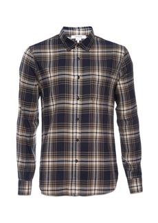 FRAME Plaid Classic Fit Button-Down Shirt