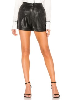 FRAME Pleated Culotte Short