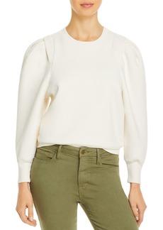 FRAME Pleated Panel Sweatshirt