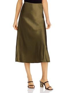 FRAME Pull-On Midi Skirt