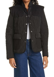 FRAME Quilted Town Jacket