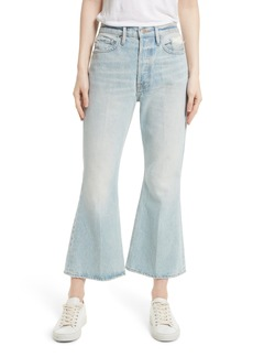 FRAME Re-Release Le Crop Flare High Waist Jeans (Fifty-Four)