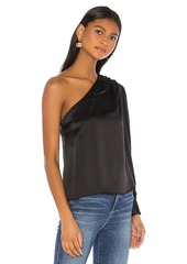 FRAME Relaxed One Shoulder Top
