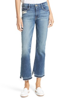 FRAME Released Hem Le Crop Mini Boot Jeans (Roberts)