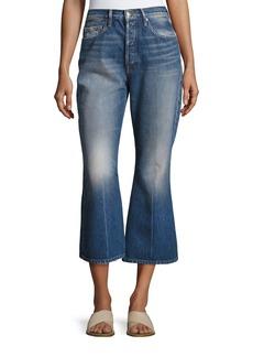 Rigid Release Le Crop Flare Denim Jeans