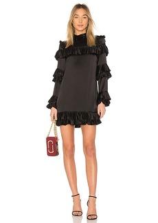 FRAME Ruffle Dress