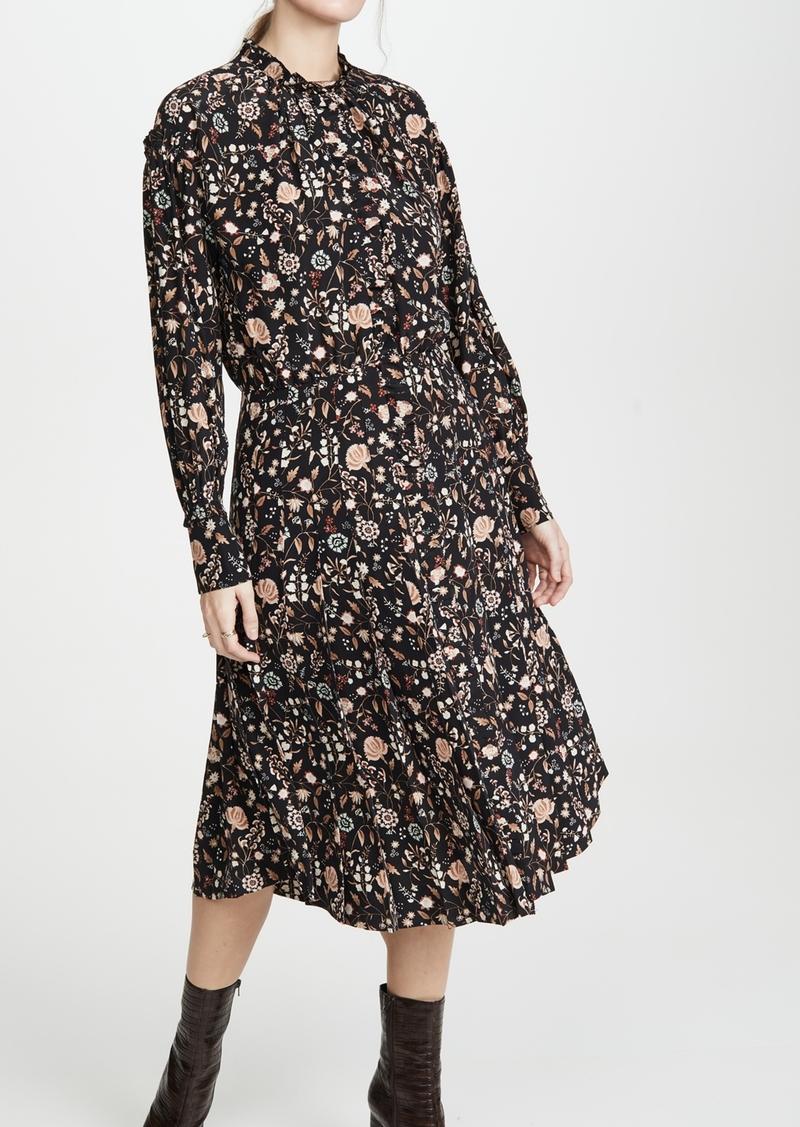 FRAME Ruffle Front Dress