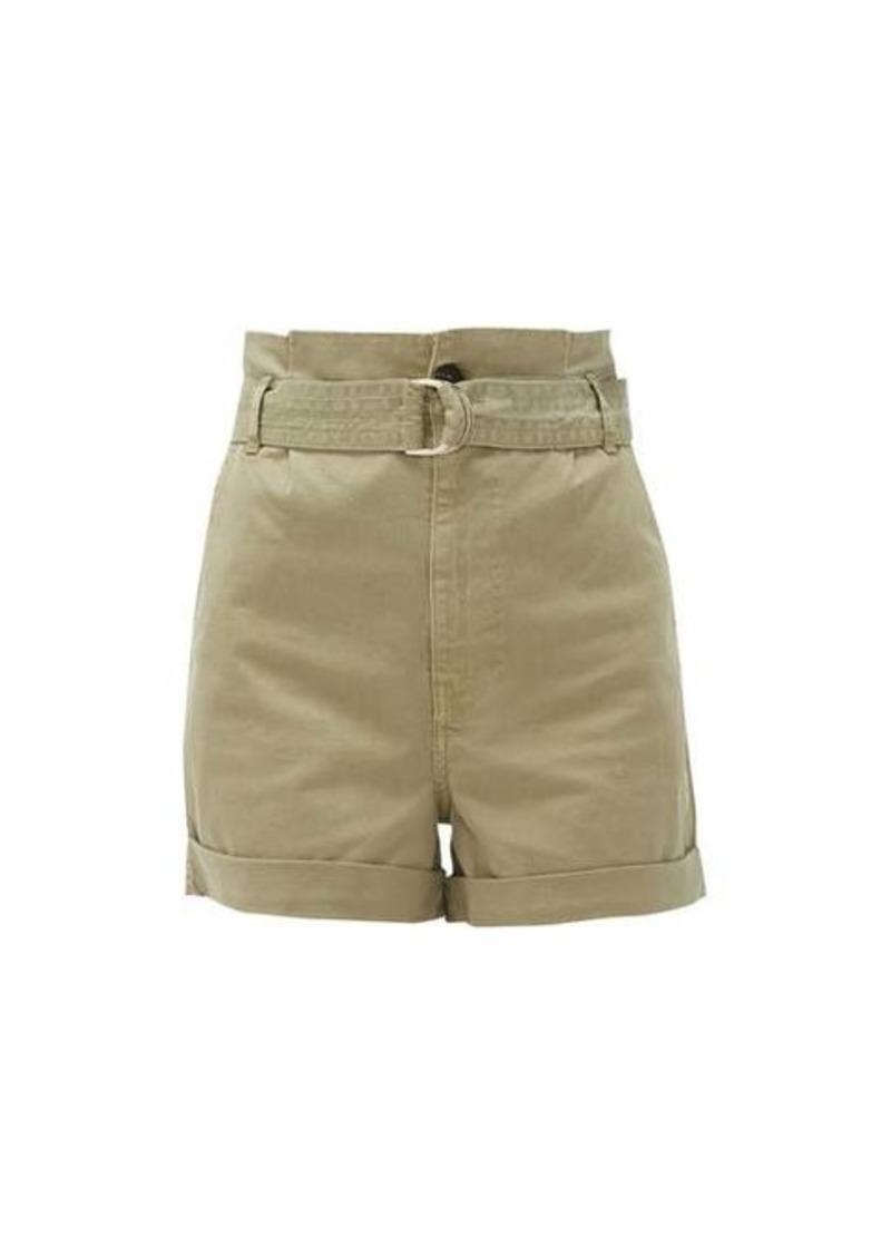 Frame Safari cotton-blend twill cargo shorts