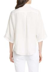 FRAME Safari Linen Shirt