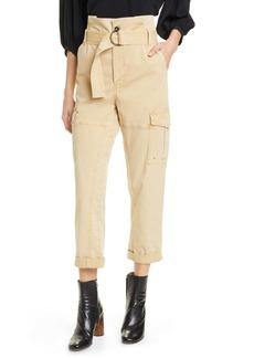 FRAME Safari Paperbag Waist Pants