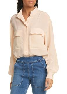 FRAME Safari Silk Shirt