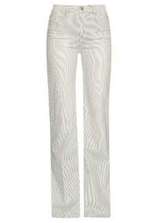 Frame San Simion high-rise wide-leg jeans