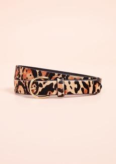 FRAME Skinny Cheetah Belt