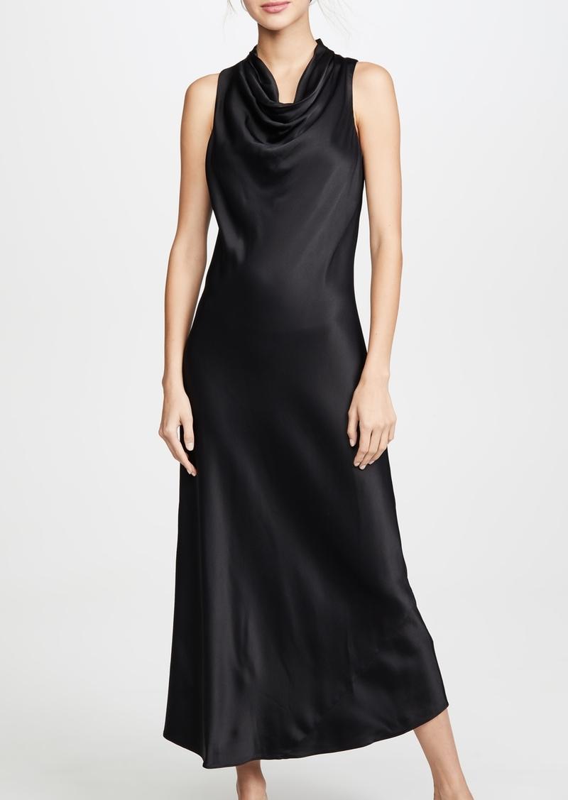 FRAME Sleeveless Cowl Neck Dress