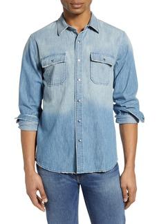 FRAME Classic Fit Denim Button-Up Shirt