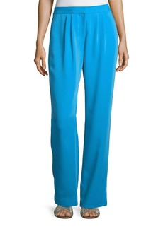FRAME Soft Straight-Leg Trousers