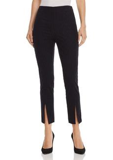 FRAME Split Front Corduroy Pants