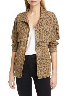 FRAME Spring Cheetah Service Jacket