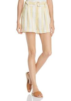 FRAME Striped Shorts